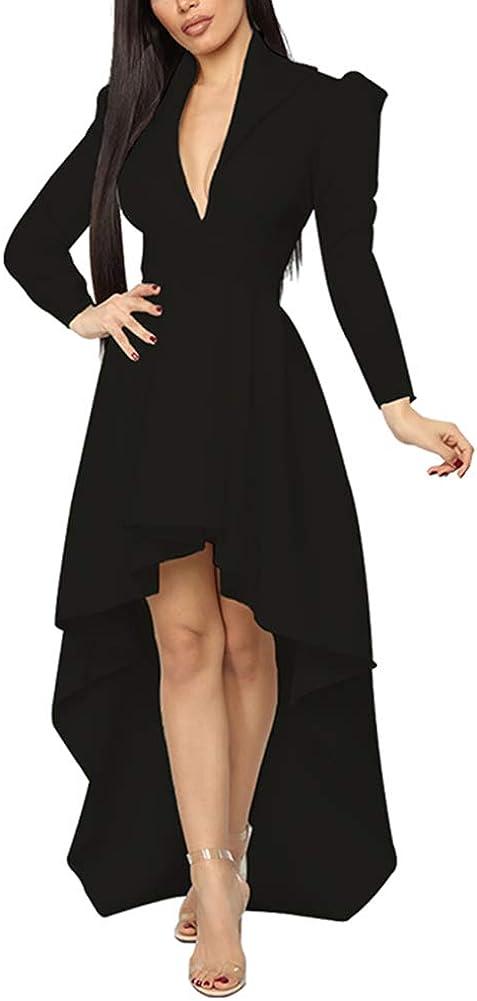 IyMoo Shirtdress for Women Shift Dress Tunic Sleeve Max 90% OFF Max 52% OFF Bl Tops Long