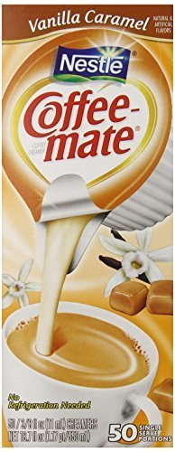 Coffee-mate Coffee Creamer, Vanilla Caramel Liquid Creamer Singles, 3/8...