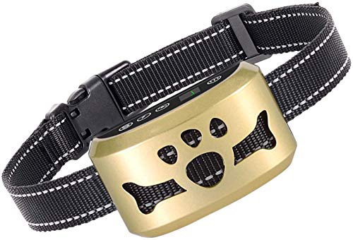 Dog Bark Collar-7 Adjustable Sensitivity and...