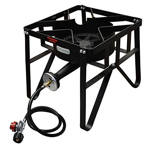 Best Price Large Cooking Surface 16.5 x 16.5 Single Burner Stove High Pressure