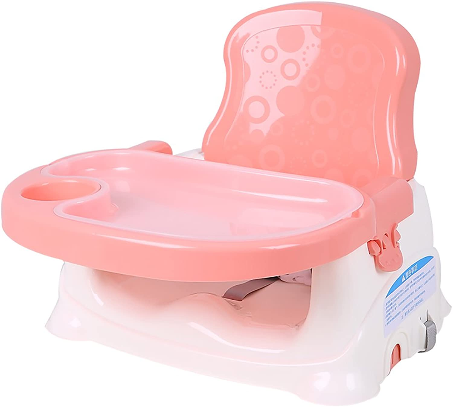Baby Healthy Care Booster Seat, Multi-Functional Portable Folding Infant Base 2-in-1 Seat, On The Go Booster Seat Witth Dining Table Best Gift Toy