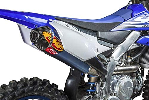 FMF Racing 044445 OFFicial Factory 4.1 RCT Titani - Denver Mall Slip-On Anodized Blue