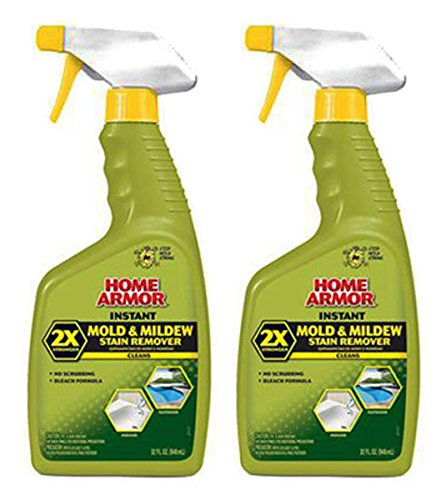 asfa FG502 Instant Mold and Mildew Stain Remover, Trigger Spray 32 Ounce, 2 Pack of 32 Ounce