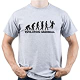 Handball Evolution Shirt Handball Tshirt Handball Player Tee Handball Player Gift Homme T-Shirt Gris M