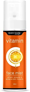 Bare Body Essentials Vitamin C Face Mist 100ml | For instant boost of Radiance & Freshness