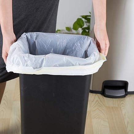 1,000 Sacs Blanc//Clair Carré Bureau sacs poubelles sacs