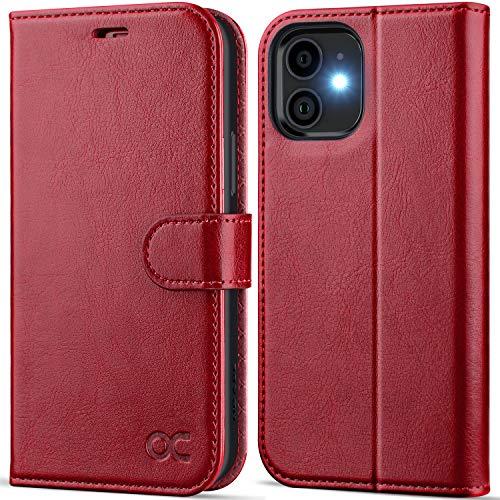 OCASE iPhone 12 Case, iPhone 12 Pro Case PU Leather iPhone 12/12 Pro 5G...