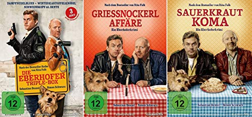 Eberhofer - 5 Filme Set ( Triple Box + Grießnockerlaffäre + Sauerkrautkoma) - Deutsche Originalware [5 DVDs]