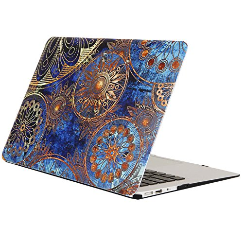 AUSMIX MacBook Pro Retina 15 inch Case (Model: A1398) Creative Stylish Bohemia Folk Customs Cover Plastic Rubberized PC Shell for Newest Mac Pro 15 with Retina Display - Bohemia