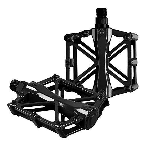 Migimi Fahrradpedale (EIN Paar), CNC Aluminiumlegierung, rutschfest mit Abgedichtete Lager, Mountainbike-Pedale, geeignet für alle Arten von Fahrrädern