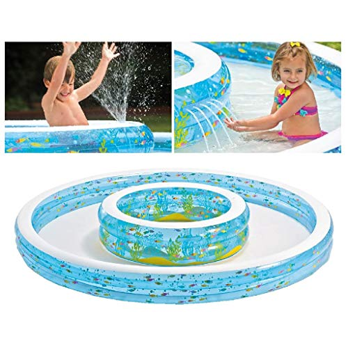 Intex - Piscina hinchable, 279 x 279 x 36 cm, 730 l...