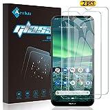 Aerku für Nokia 2.3 Panzerglas,9H HD Schutzfolie Anti-Kratzer Film Bildschirmschutzfolie Blasenfreie Panzerglasfolie für Nokia 2.3 [2Stück]-Transparent