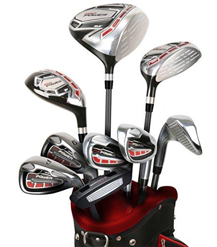 Powerbilt Pro Power Package +1' Golf Set, Right Hand