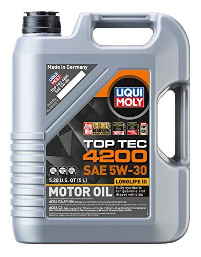 Liqui Moly (2011 Top Tec 4200 5W-30 Synthetic Motor Oil - 5 Liter