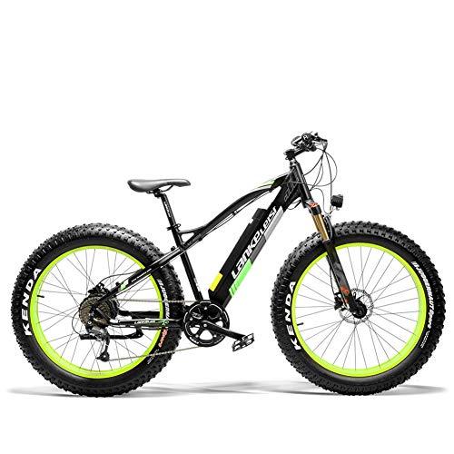 Extrbici XC4000 Erwachsenen Elektrofahrrad und Hilfsfahrrad 500W 36V 16AH Mountainbike Schneefahrrad Fahrrad 26 Zoll mit Shimano Scheibenbremse