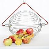 Feucht Obsttechnik Apfel-Sammler OHNE Stab- der Roll-Blitz die kleinste Obstaufsammelmaschine der Welt direkt vom Hersteller für Apfel, Birnen