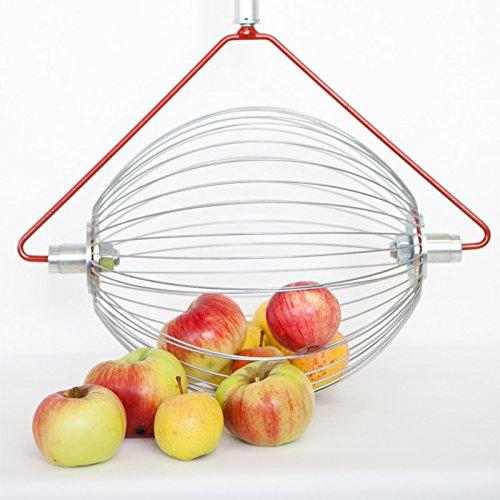 Apfel-Sammler OHNE Stab- der Roll-Blitz die kleinste Obstaufsammelmaschine der Welt direkt vom Hersteller für Apfel, Birnen