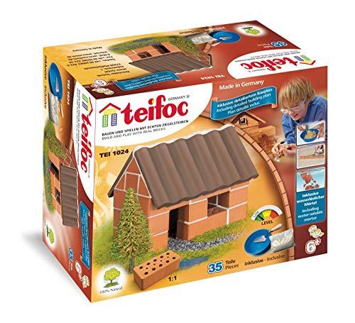 Coala S.R.L- Piccola Casa di Famiglia Teifoc Casetta 1024, Multicolore, familiare, 840018