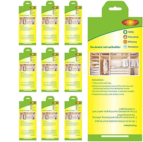 Fullsexy 10 st malfälla malskyddskläder förstklassig malfälla för garderoben
