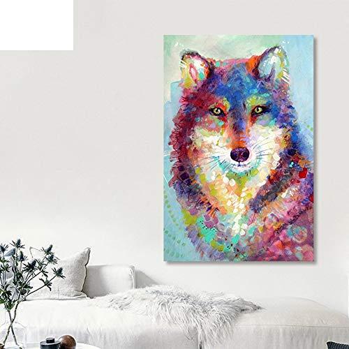 Alesx Digitale schilderkunst, zonder lijst, op cijfers, kunstverf, op nummer, digitaal schilderen, doe-het-zelf samenvatting, kleurrijke verwarming, olieverfschilderdecoratie, achtergrondpijn