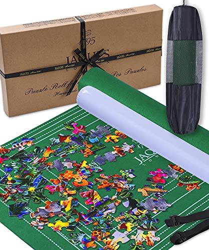 Jaques of London Puzzlematte | Puzzlematte 2000 Teile | Qualität Puzzle Matte Roll Und Puzzle-Zubehör | Seit 1795