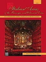 Italian Arias of the Baroque and Classical Eras: High