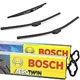 Set Bosch Wischer Wischerblatt Wischerblätter Scheibenwischer Scheibenwischerblätter Aerotwin...