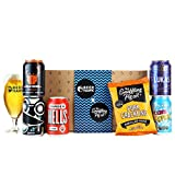 Beer Hawk & Snaffling Pig Selection Box - 5 Beers, A Glass and A Tasty Snaffling Pig Snack