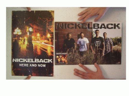 Nickelback Poster Here And Now Two Sided