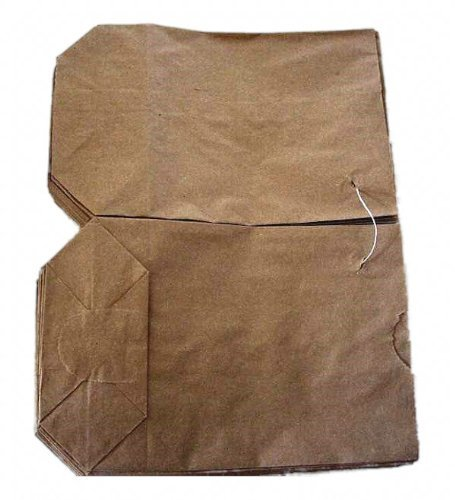 100 Kreuzbodenbeutel 23 x 37 cm braun Natron für 2,5 kg Bodenbeutel Tüten Papierbodenbeutel gefädelt