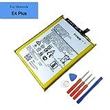 Batterie de Rechange intégrée pour Motorola Moto E4 Plus XT1770 XT1775 XT1776 SNN5990A 4850 mAh...