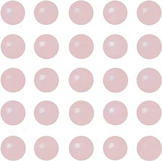 8mm Natural Loose Beads 108 pcs for Making mala Necklace or Bracelet (Rose Quartz)