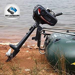 Amazon com : Briggs & Stratton 5hp 4-Cycle Gas Outboard Boat
