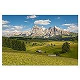 artboxONE Poster 45x30 cm Natur Sommer auf der Seiser ALM -