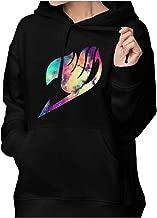 Aidear Fairy Tail Logo Galaxy Women Long Sleeve Hoodie Plus Size Sportswear Coat