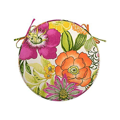 Fantastic Outdoor Round Seat Cushion Amazon Com Home Remodeling Inspirations Cosmcuboardxyz
