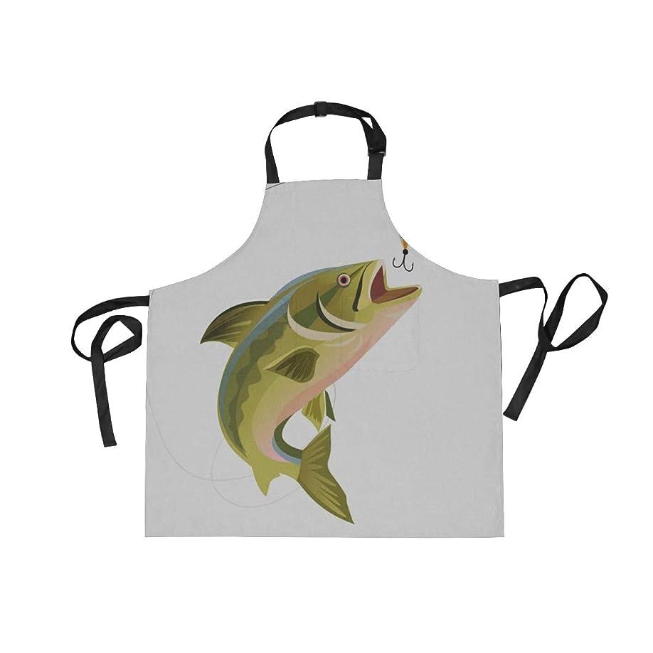 本質的ではない説得力のある段落エプロン カフェエプロン 魚 首掛け 調節可能 撥水 防汚 飲食店 仕事用 家庭用 男女兼用
