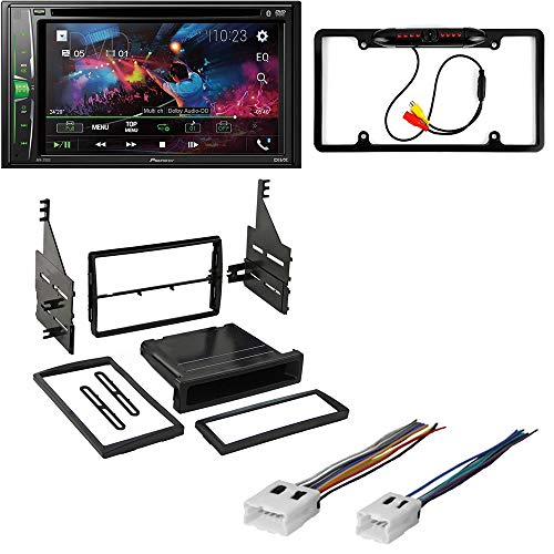 5Item 2012 GMC Arcadia W//Car Stereo with Bluetooth//Backup Camera//Installation Kit//in-Dash DVD//CD AM//FM 6.2 WVGA Touchscreen Digital Media Receiver CACH/É KIT4781 Bundle for 2007