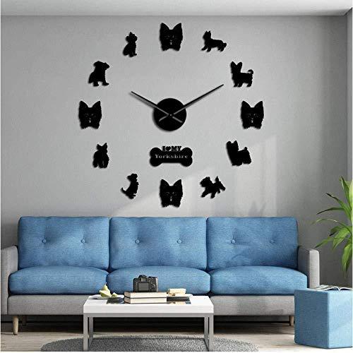 DIY horloge murale Boxe jeu de Combat DIY horloge murale Sport Art Martial Tenture murale Art Salon décoration horloge murale sans Cadre Moderne horloge à Quartz