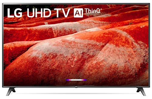 LG 86UM8070PUA 86' 4K Ultra HD Smart LED TV (2019), Black