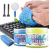 2 Stück Tastatur Reinigung Keyboard Cleaner Universal Cleaning Gel Super
