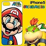 HASE-PRO スーパーマリオ iPhone5 専用 DECORE WEAR for iPhone5 ハードカバー スーパーマリオ01 マリオフェイス5H