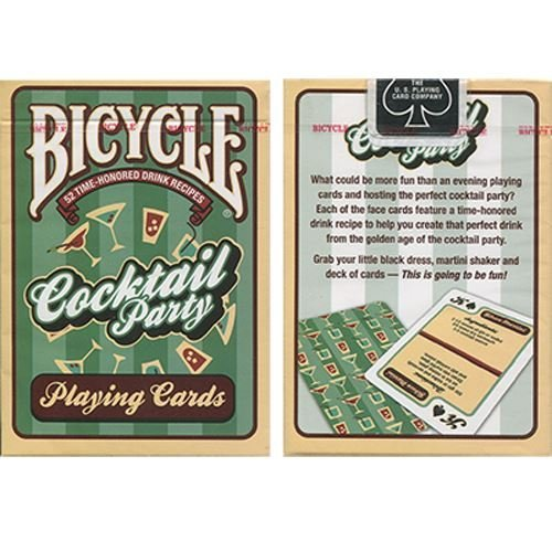 cartes à jouer Bicycle Cocktail Party Cards by US Playing Card Co - Trick