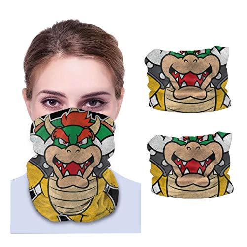 None branded Bowser Coming For You Multifunktionale Kopfbedeckung Gesichtsmaske Bandana Maske Sport Hals Gaite