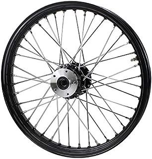 Black Front 40 Spoke Wheel 21