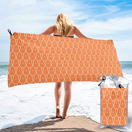 Flew The Coop Valencia - Toalla de baño de microfibra de secado rápido, ideal para camping, gimnasio, yoga, playa, natación, senderismo