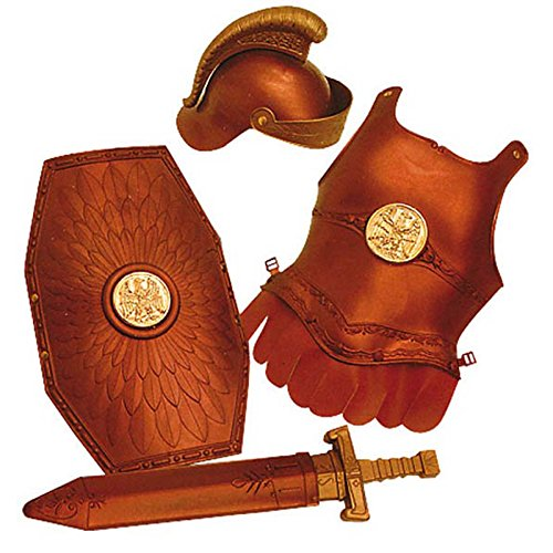 Giplam 80 x 32 cm Roman Armour Set (One Size) One Size Divertimento assicurato