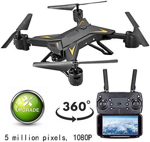 Drones Live Video, Grand angle 110 °, Ajustement l'angle 90 °, Appareil photo GPS Wifi Wifi Vidéo en direct GPS Gyro 4 axes, Distance contrôle longue distance 360 °, Mosans tête Longue portée