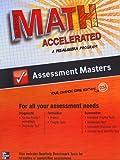 Glencoe Math, Accelerated, A Pre-Algebra Program, Assessment Masters, CCSS, Common Core Edition