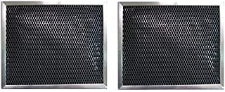 2 PACK WB02X10707 GE Range Hood Charcoal Carbon Filter Replacements
